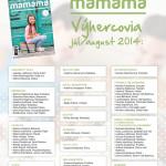 Výherkyne MAMAMA - Júl / August - 2014