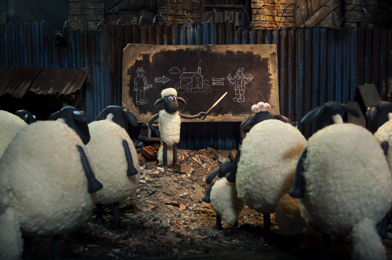 Photo © Aardman Studios / STUDIOCANAL
