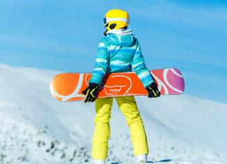 deti snowboard