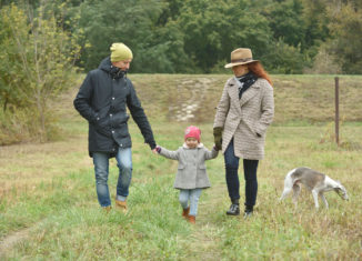 Helena Krajčiová s rodinou